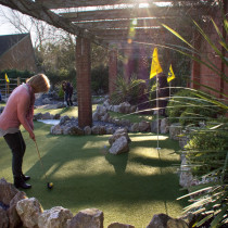 Crazy Golf Happy Mount Park