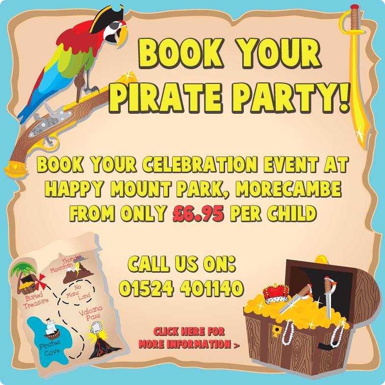 Book Your Pirate Party!