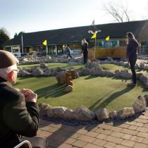 Mini Golf Happy Mount Park