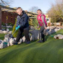 Adventure Golf Happy Mount Park