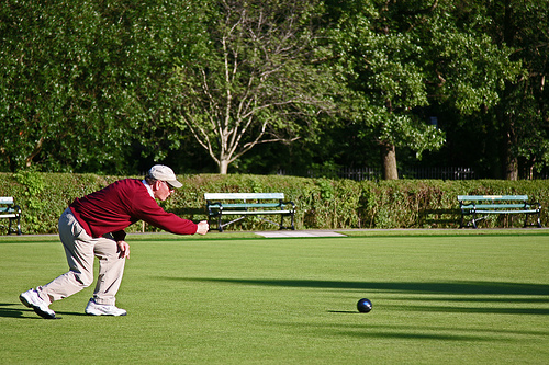 Crown Green Bowls Morecambe
